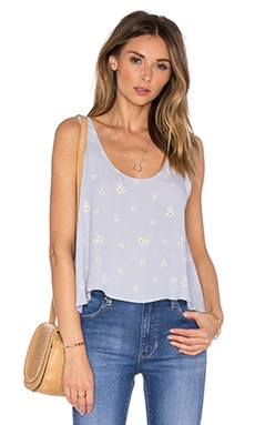 The Swing Tank Blouse en marguerite