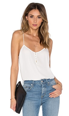 The Button Cami Blouse in Ivory