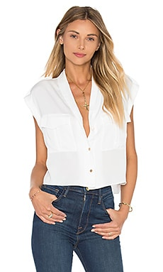 The Safari Crop Top Blouse