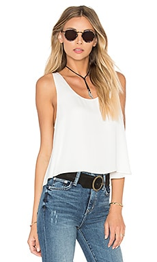 The Swing Tank Blouse in Ivory