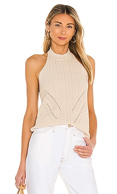 Thalia Knit Top L'Academie $148 NEW