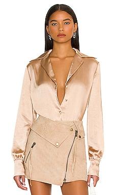 Raquel Bodysuit L'Academie $188 NEW
