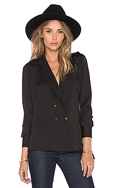 The Military Blouse in Black