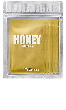 Honey Daily Skin Mask 5 Pack LAPCOS $14