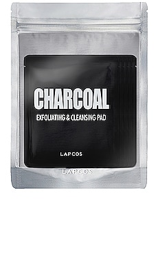 HERRAMIENTA CHARCOAL EXFOLIATING & CLEANSING PAD 5 PACK LAPCOS $11