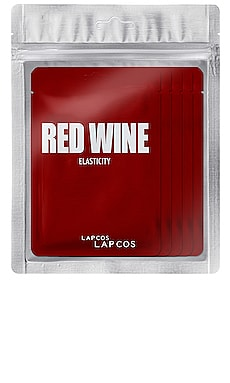 Red Wine Daily Skin Mask 5 Pack LAPCOS $14