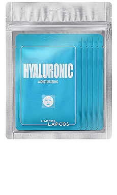 Hyaluronic Derma Mask 5 Pack LAPCOS $14