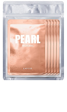 Pearl Daily Skin Mask 5 Pack LAPCOS $14