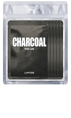 Charcoal Daily Skin Mask 5 Pack LAPCOS $14 BEST SELLER