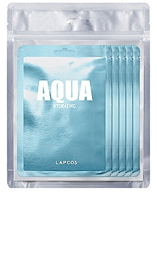 Aqua Daily Skin Mask 5 Pack LAPCOS $14 BEST SELLER