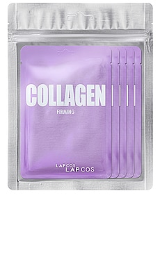 Collagen Daily Skin Mask 5 Pack LAPCOS $14 BEST SELLER