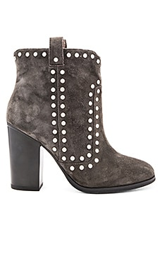 Lola Cruz Los Angeles Bootie in Anthracite