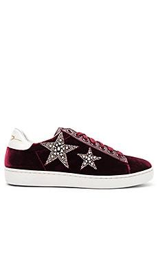 Star Velvet Sneaker