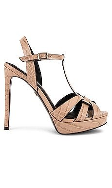 Mavra Croco High Heel Sandal Lola Cruz $178