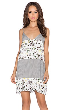 The LDRS Floral Tank Dress in Petal Print