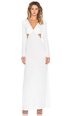 Long Sleeve Cutout Maxi Dress