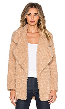 The LDRS Furry Coat in Brown