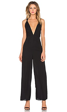 The LDRS Sweeheart Jumpsuit in Black