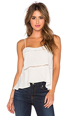 The LDRS Linen Cami in Cream