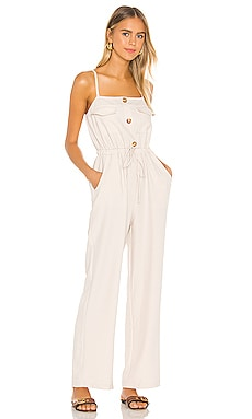 Mari Jumpsuit Line & Dot $73