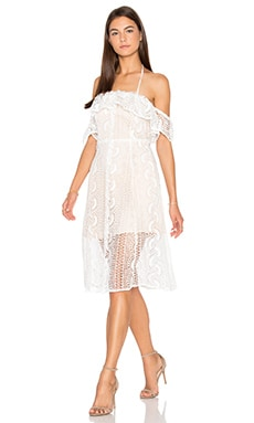 Line & Dot Palais De Dress in White