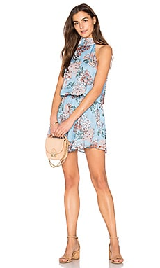 Rudi Halter Dress in Sky
