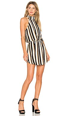 Oak Halter Dress in Stripe