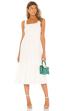 Becky Summer Dress Line & Dot $69