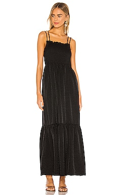 Blaque Maxi Dress Line & Dot $53