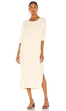 Camila Sweater Dress Line & Dot $115 NEW