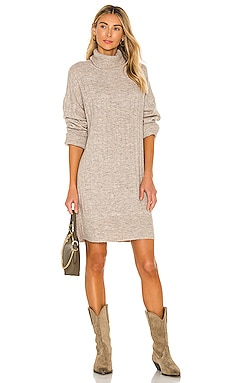 Madelyn Turtleneck Sweater Dress Line & Dot $105 BEST SELLER