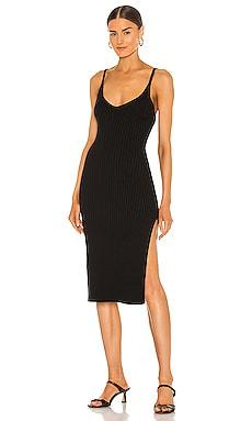 Mariah Ribbed Sweater Dress Line & Dot $97