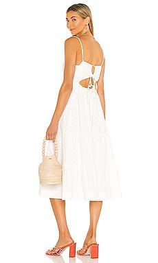Charlotte Embroidered Dress Line & Dot $143 BEST SELLER