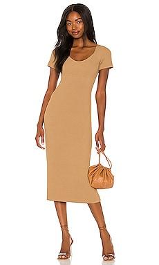 Melissa Midi Sweater Dress Line & Dot $118 BEST SELLER