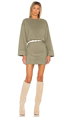 Novah Mini Dress Line & Dot $95 NEW