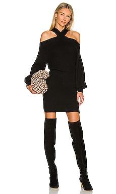 Ariana Cold Shoulder Sweater Dress Line & Dot $97 BEST SELLER