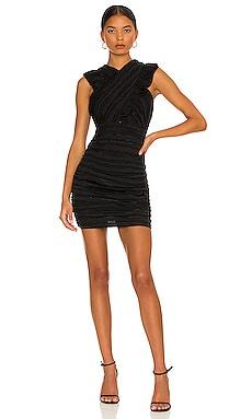 Harlow Mini Dress Line & Dot $106 NEW