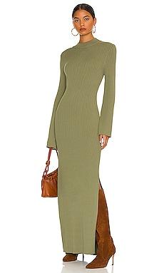 Jessica Ribbed Sweater Dress Line & Dot $129 NEW