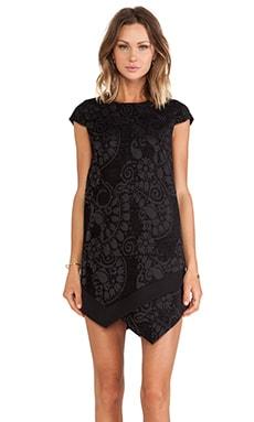Line & Dot Uma Dress in Black