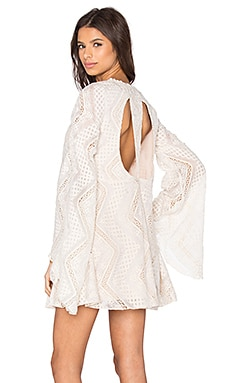 Line & Dot Lyon Lace Dress in Cream