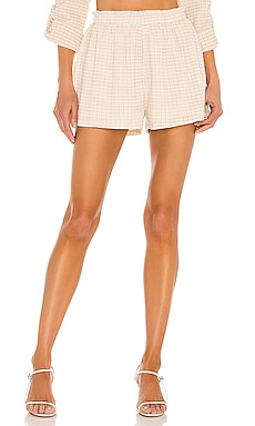 Delilah Shorts Line & Dot $32