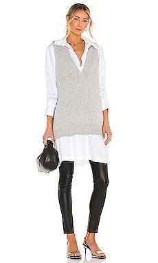 Lori Sweater Vest Line & Dot $90
