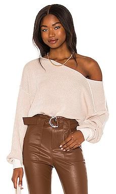 Favorite Off the Shoulder Sweater Line & Dot $92 BEST SELLER