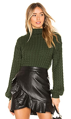 Juniper Cable Knit Sweater Line & Dot $76
