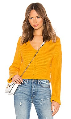 Micha Sweater Line & Dot $34