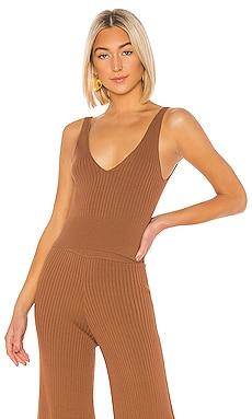 Lynn Sweater Tank Top Line & Dot $47