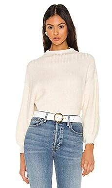 Sofi Sweater Line & Dot $97
