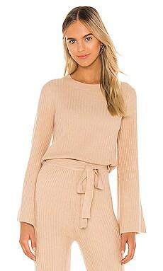 Ryder Sweater Line & Dot $87 BEST SELLER