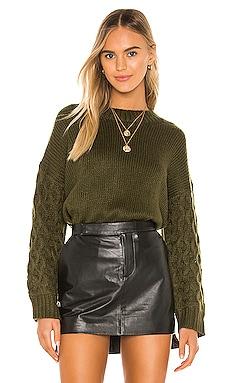 Juniper Sweater Line & Dot $99 BEST SELLER