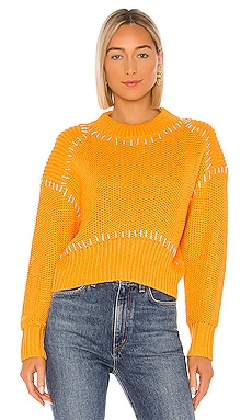 Sunset Sweater Line & Dot $92